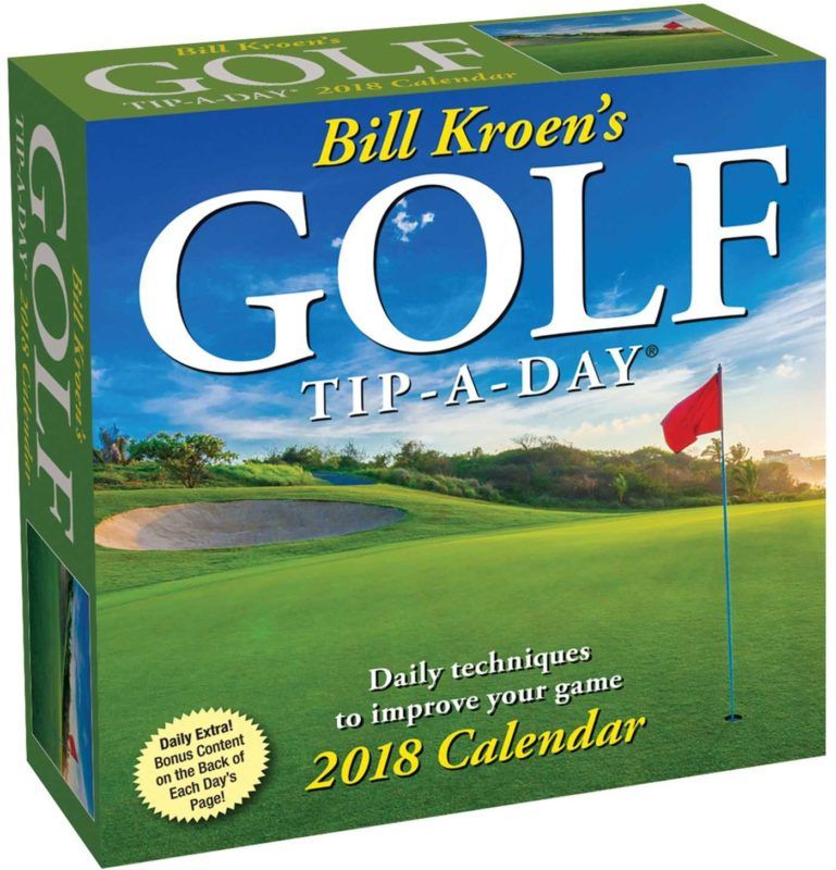 BILL KROEN'S GOLF TIP-A-DAY® CALENDAR